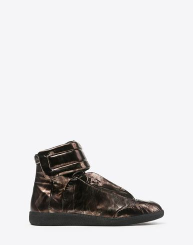 MAISON MARGIELA Sneakers U Future High Top sneakers in metallic leather f