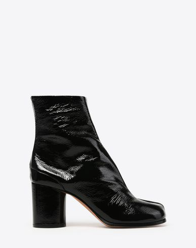 MAISON MARGIELA Ankle boots D Patent calfskin Tabi boots f