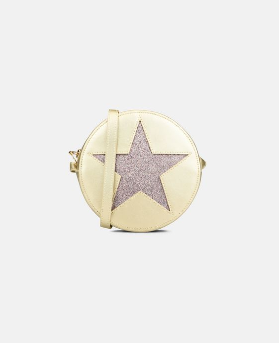 Glitter Gold Star Bag