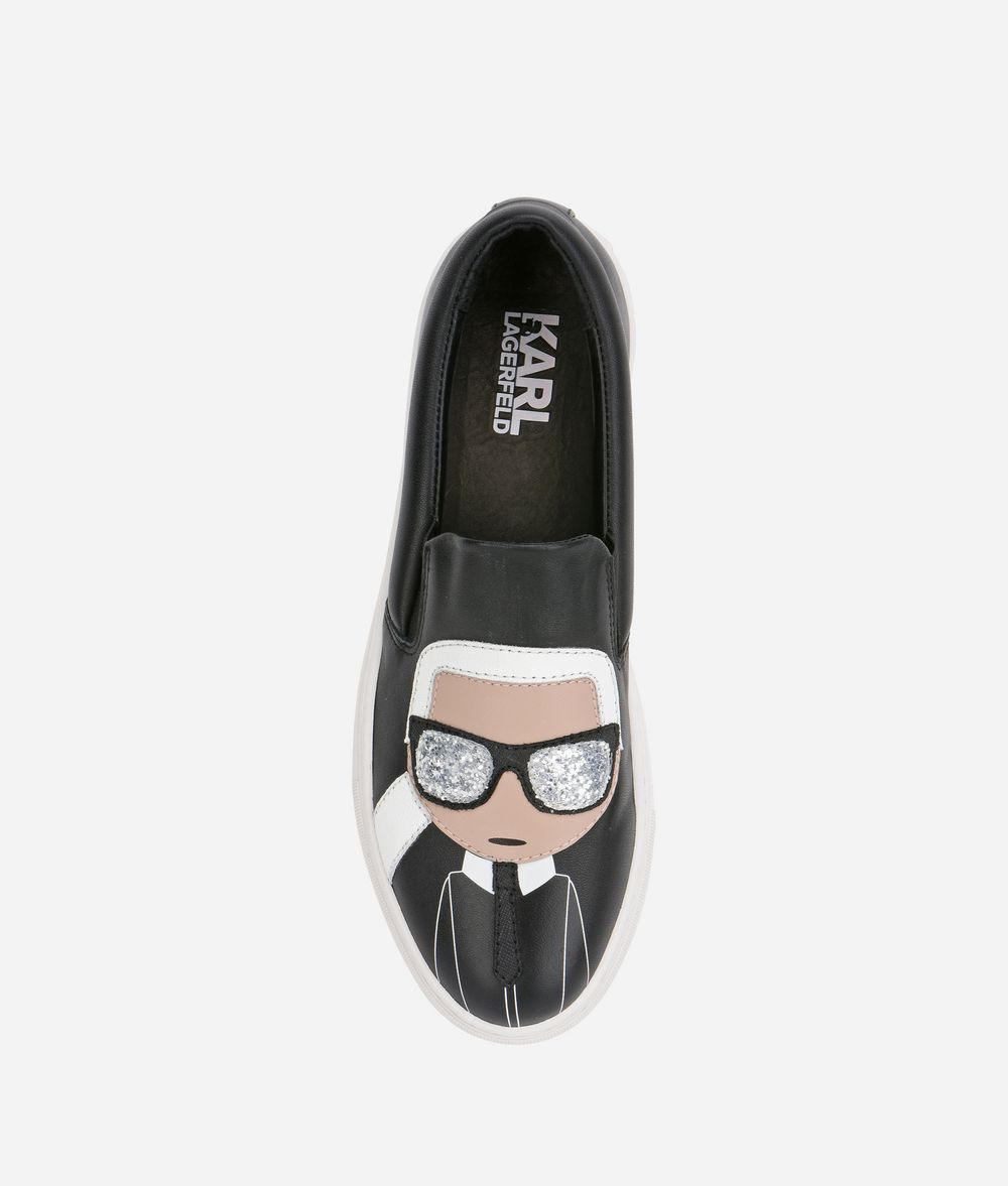 KARL LAGERFELD KUPSOLE Karl Ikonic Slip-on Sneakers Woman d