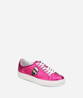 KARL LAGERFELD SNEAKERS LOW-TOP KUPSOLE KARL IKONIK STRINGATE