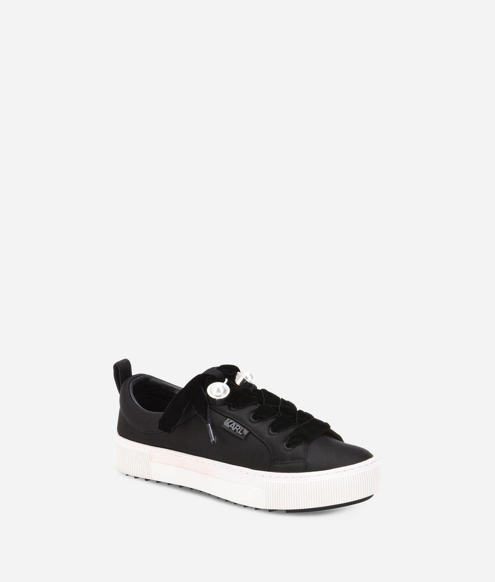 KARL LAGERFELD Luxor Kup Lace Shoe Sneakers Woman f