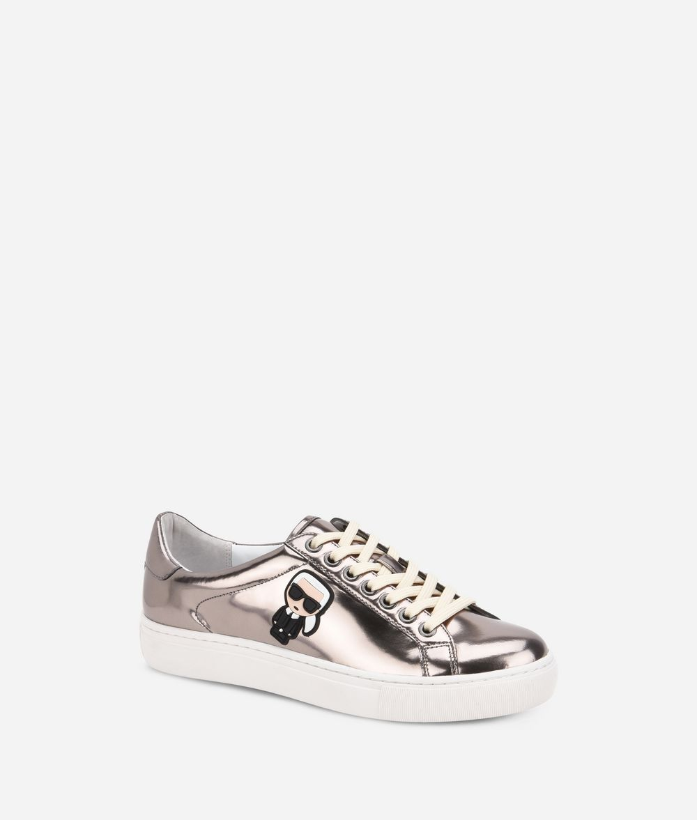 KARL LAGERFELD Kupsole Karl Ikonik Lo Lace Sneakers Woman f