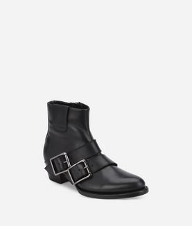 KARL LAGERFELD KAVALIER RANCH TWO BUCKLE BOOT
