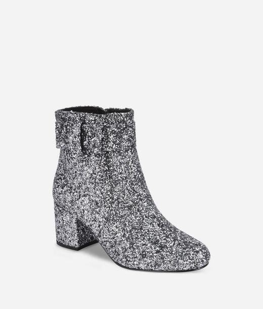 KARL LAGERFELD Lavinia Glitter Ankle Boot 12_f