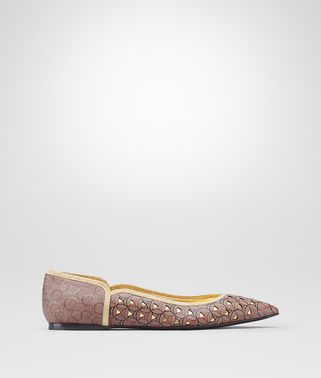 TIPPIE BALLERINA IN DESERT ROSE NAPPA