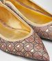 BOTTEGA VENETA TIPPIE BALLERINA IN DESERT ROSE NAPPA Flat Woman ap
