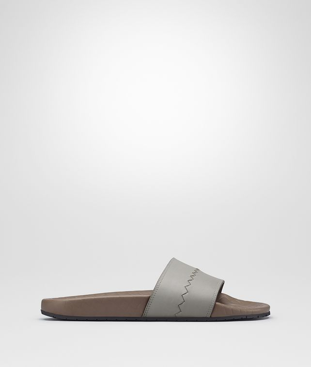 BOTTEGA VENETA LAKE REYN SANDAL IN CEMENT CALF Sneaker or Sandal U fp