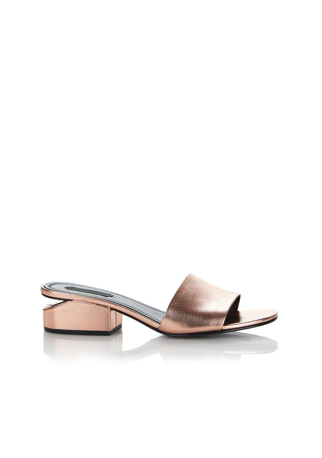 ALEXANDER WANG METALLIC LOU SANDAL  平底鞋 Adult 12_n_f