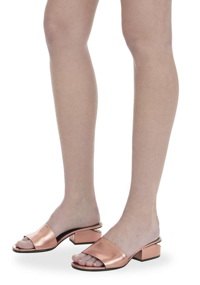 ALEXANDER WANG METALLIC LOU SANDAL  平底鞋 Adult 12_n_r