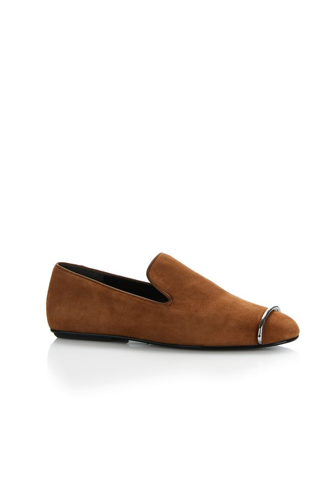 ALEXANDER WANG new-arrivals-shoes-woman KALLI SUEDE SLIPPER