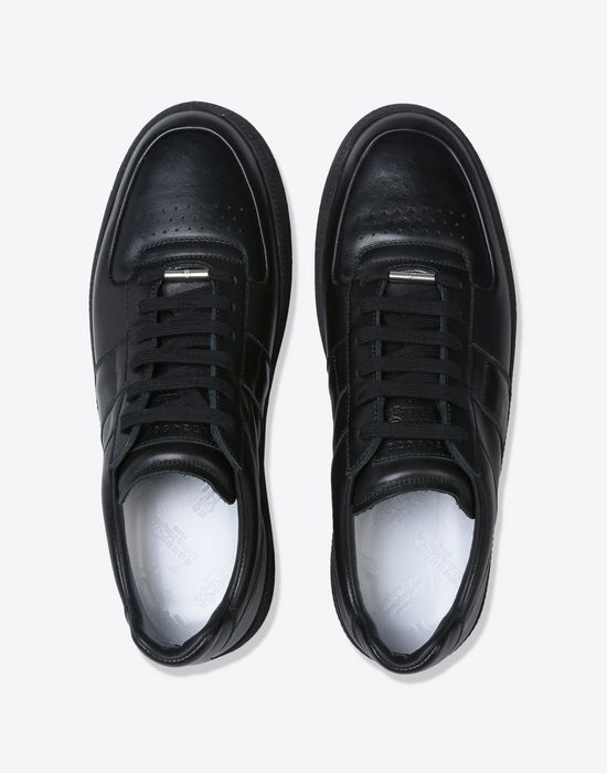 MAISON MARGIELA Calfskin low top sneakers Sneakers [*** pickupInStoreShippingNotGuaranteed_info ***] d