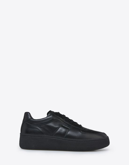 MAISON MARGIELA Calfskin low top sneakers Sneakers [*** pickupInStoreShippingNotGuaranteed_info ***] f