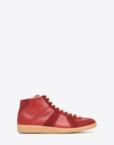 MAISON MARGIELA Sneakers U High top calfskin Replica sneakers f