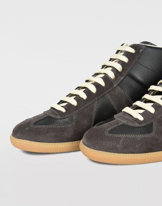 MAISON MARGIELA High top calfskin Replica sneakers Sneakers [*** pickupInStoreShippingNotGuaranteed_info ***] a