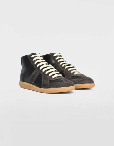 MAISON MARGIELA High top calfskin Replica sneakers Sneakers Man d
