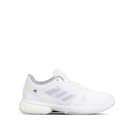 White Boost Barricade Tennis Shoes