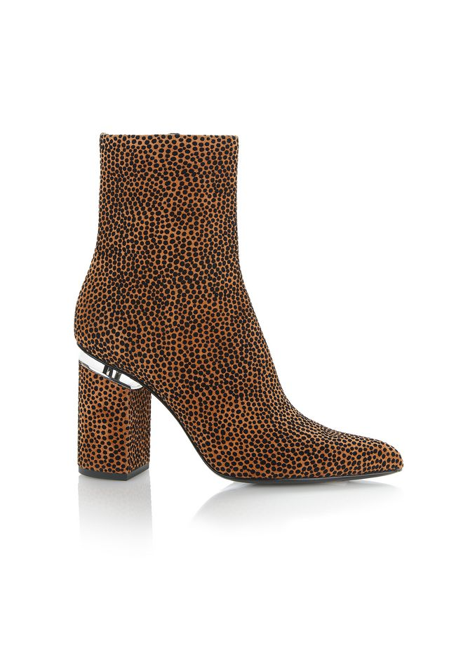 ALEXANDER WANG new-arrivals-shoes-woman KIRBY SUEDE HIGH HEEL BOOTIE