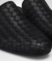 BOTTEGA VENETA NERO INTRECCIATO NAPPA FIANDRA SLIPPER Flat Woman ap