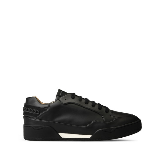 Black Alter Nappa Chain Sneakers