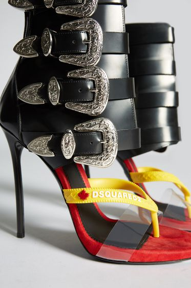 DSQUARED2 High-heeled sandals Woman HSW001224900469M069 m
