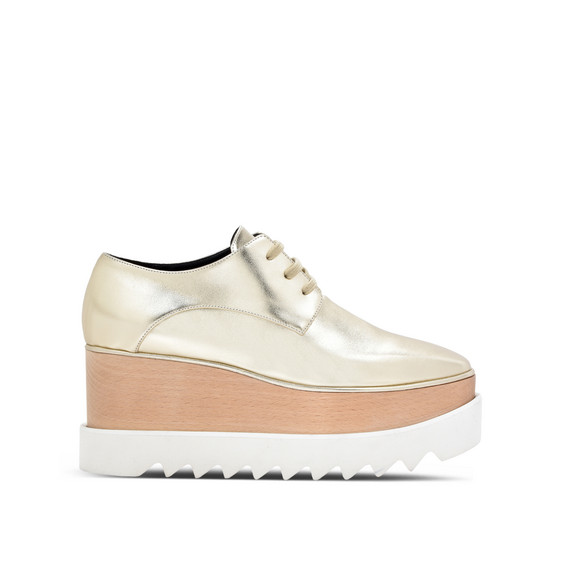Pale Gold Elyse Shoes