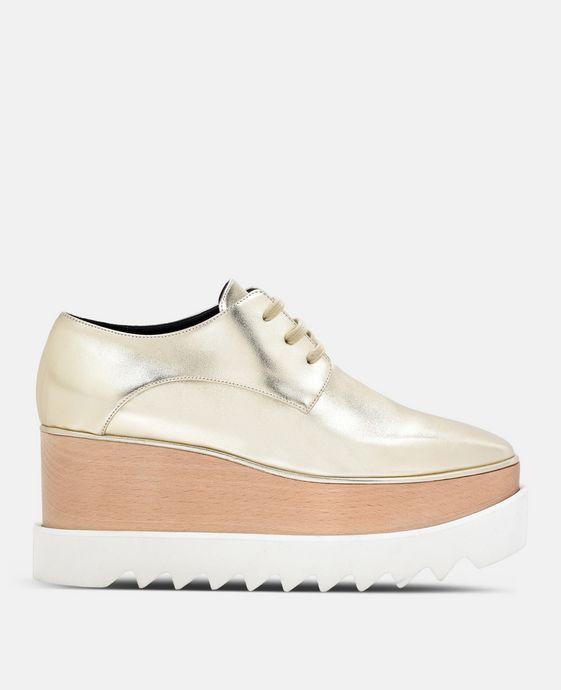 Blassgoldene Schuhe Elyse