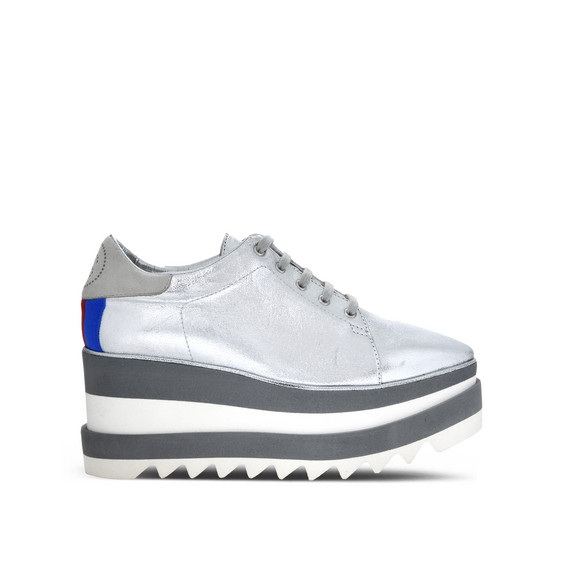 银色 Sneak-Elyse 运动鞋