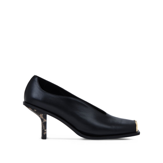 Black Alter Nappa Pumps