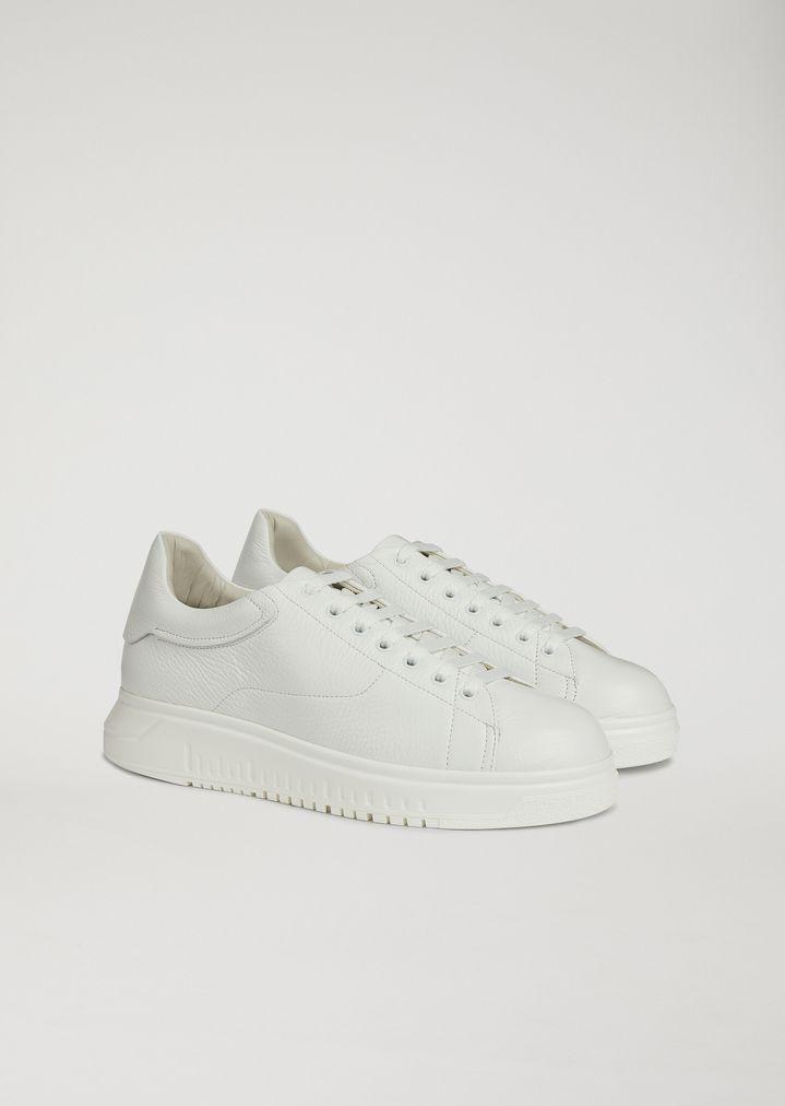 AltaUomo Armani Sneakers Con Emporio Pelle Suola In redoWxCB