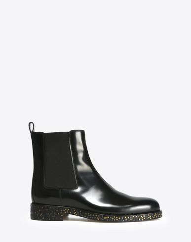 MAISON MARGIELA Ankle boots D Calfskin Chelsea boots with contrasting soles f
