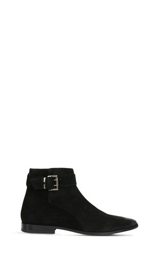 JUST CAVALLI Ankle boots U Suede-effect ankle boots f