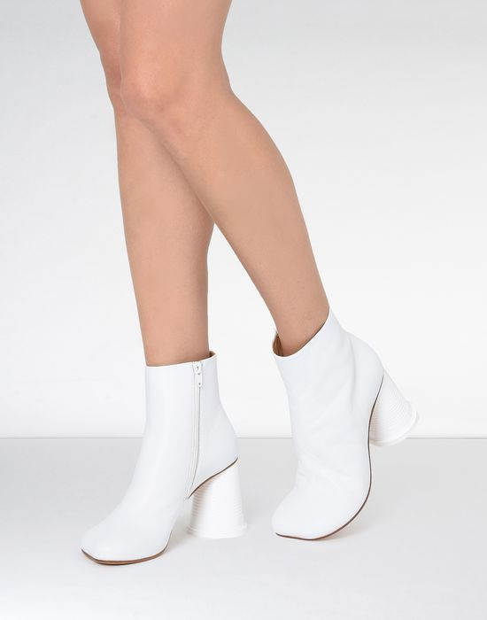 MM6 MAISON MARGIELA Ankle boots with cup heel Ankle boots [*** pickupInStoreShipping_info ***] b