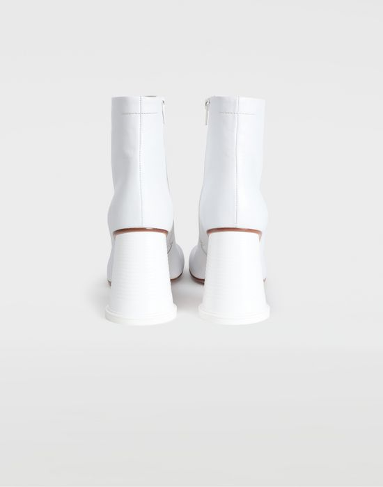 MM6 MAISON MARGIELA Ankle boots with cup heel Ankle boots [*** pickupInStoreShipping_info ***] d
