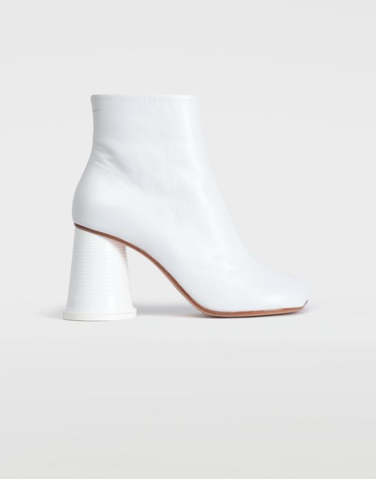 MM6 MAISON MARGIELA Ankle boots with cup heel Ankle boots [*** pickupInStoreShipping_info ***] f