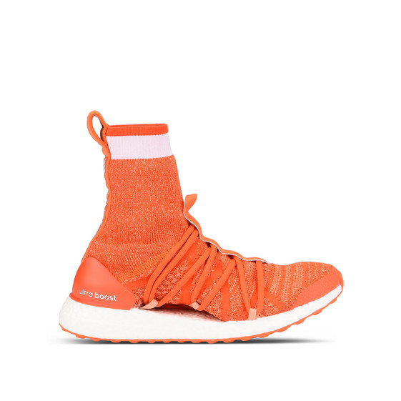 Orange Ultraboost X Trainers