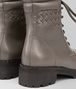 BOTTEGA VENETA COMBAT BOOT IN STEEL CALF, INTRECCIATO DETAILS Boots and ankle boots D ap