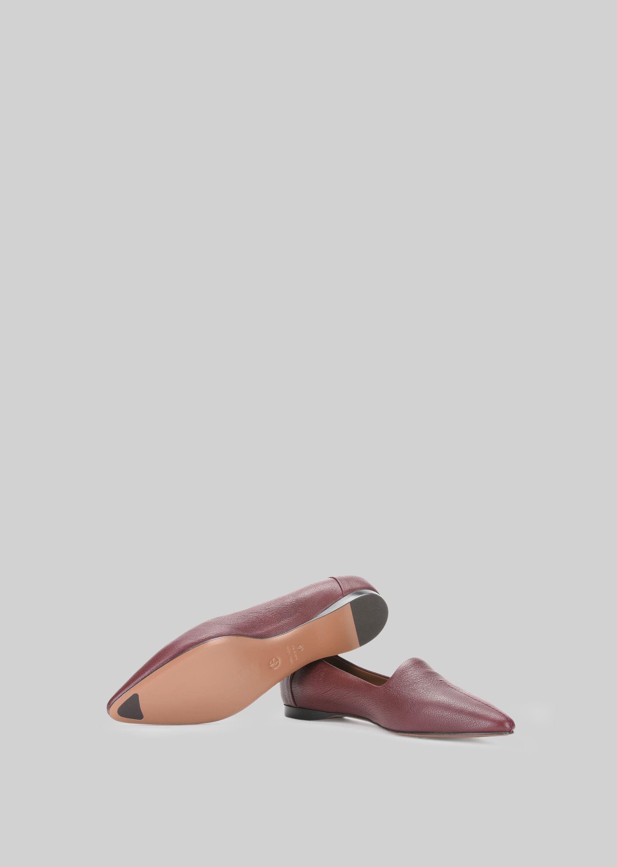 GIORGIO ARMANI LEATHER BALLET FLATS Ballet Flats D a