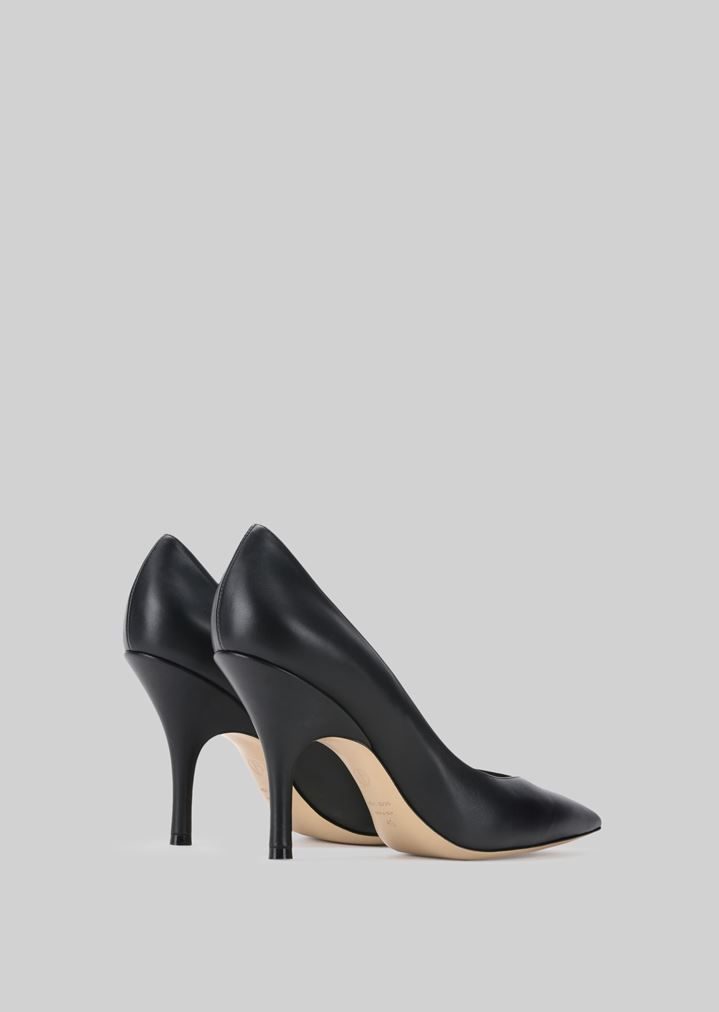 GIORGIO ARMANI LEATHER PUMPS Pumps Woman d