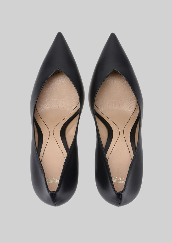 GIORGIO ARMANI LEATHER PUMPS Pumps Woman e