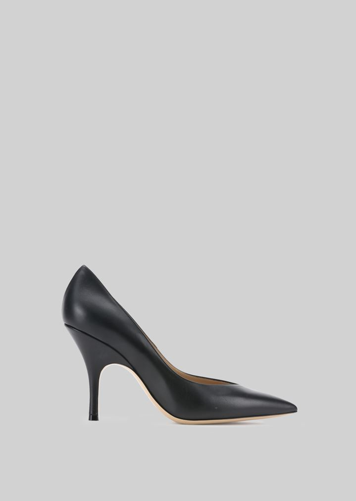 GIORGIO ARMANI LEATHER PUMPS Pumps Woman f