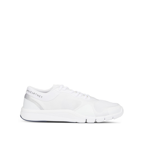 White Adipure Trainers