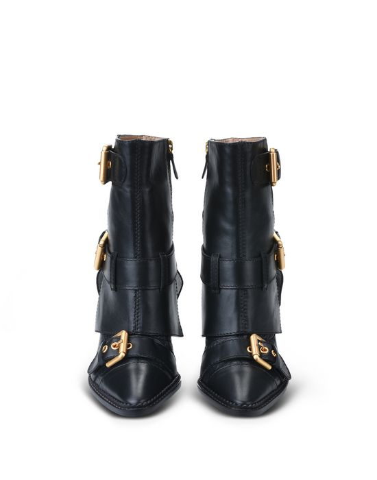 Moschino Leather Boots gevx7