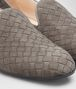 BOTTEGA VENETA FIANDRA SLIPPER IN STEEL INTRECCIATO SUEDE Flat D ap