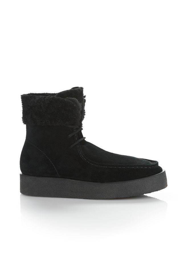 ALEXANDER WANG Ankle boots NOAH SUEDE BOOT WITH SHEARLING
