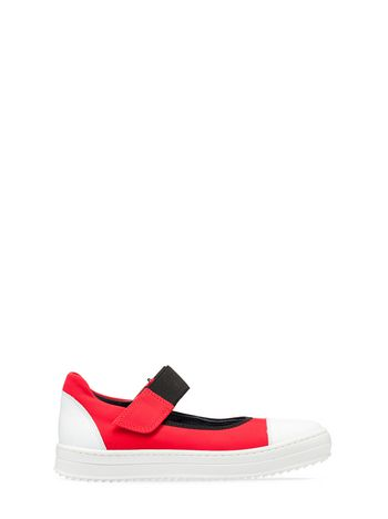 Marni FLAT SHOE IN TECHNO FABRIC Woman