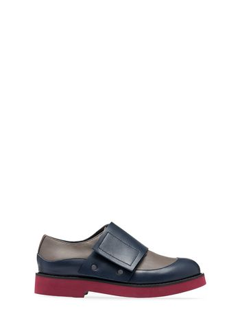 Marni MATTE LEATHER LOAFER Woman