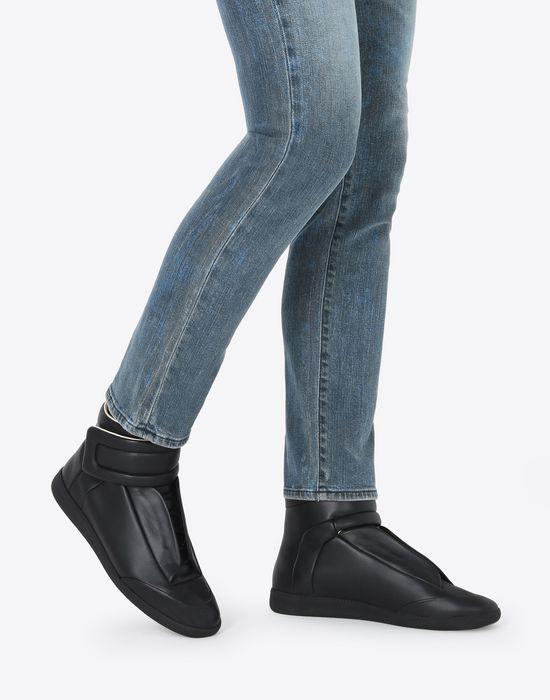 MAISON MARGIELA Calfskin Future High Top sneakers Sneakers [*** pickupInStoreShippingNotGuaranteed_info ***] b