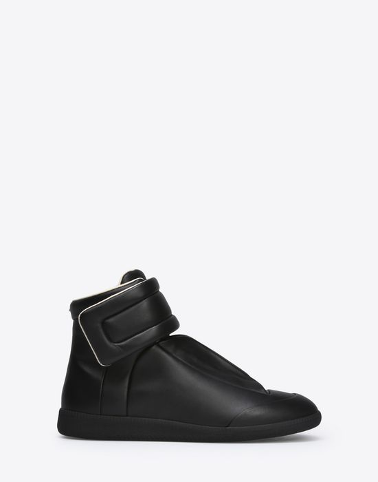 MAISON MARGIELA Calfskin Future High Top sneakers Sneakers [*** pickupInStoreShippingNotGuaranteed_info ***] f