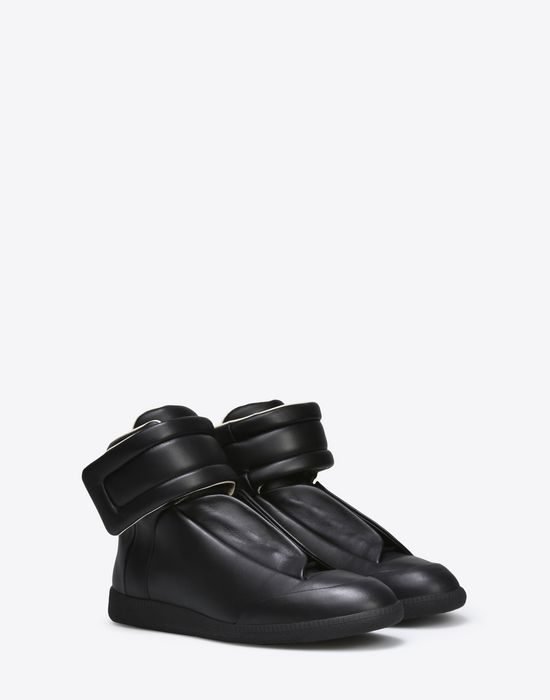 MAISON MARGIELA Calfskin Future High Top sneakers Sneakers [*** pickupInStoreShippingNotGuaranteed_info ***] r